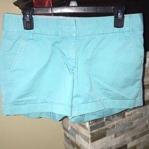 J.crew light blue shorts